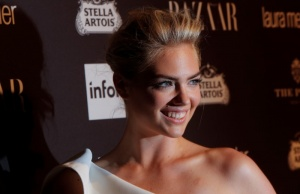 Kate Upton attends Harper's Bazaar's celebration of 'ICONS By Carine Roitfeld' at The Plaza Hotel during New York Fashion Week in Manhattan, New York, U.S.
