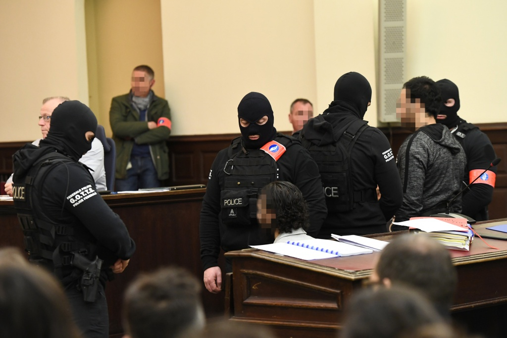 Salah Abdeslam, one of the suspects in the 2015 Islamic State attacks