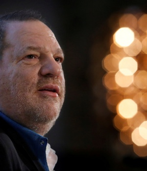 Harvey Weinstein speaks at the UBS 40th Annual Global Media and Communications Conference in New York