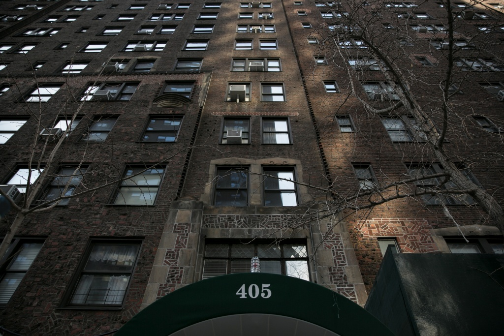 405 E. 54th street, where Donald Trump Jr.'s wife, Vanessa Trump, opened a letter containing white powder