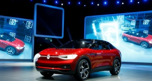 New Volkswagen I.D. Crozz concept car is presented during the Frankfurt Motor Show (IAA) in Frankfurt