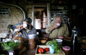 The Wider Image: French farmer finds happiness in life before machines