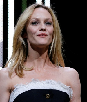 Jury member, actress and singer Vanessa Paradis arrives on stage for the closing ceremony of the 69th Cannes Film Festival