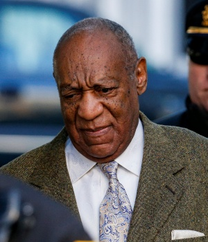 Actor and comedian Bill Cosby arrives for a pretrial hearing for his sexual assault trial at the Montgomery County Courthouse in Norristown, Pennsylvania