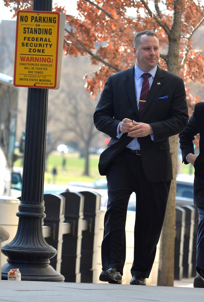 Trump former campaign aide Nunberg arrives at US District Court for grand jury appearance
