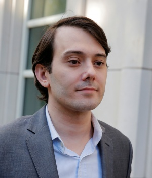 Martin Shkreli departs after a hearing at U.S. Federal Court in Brooklyn New York
