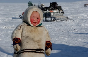 The Wider Image: Russian voting starts early for reindeer herders