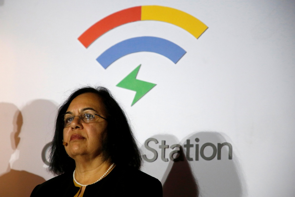 VP of Product Management at Google Joshi looks on during news conference in Mexico City