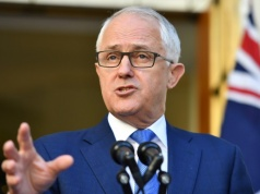 Prime Minister Malcolm Turnbull speaks at a news conference at Parliament House in Canberra