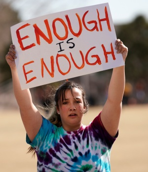 National School Walkout to protest gun violence