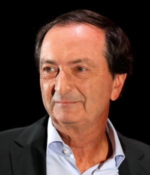 "Michel-Edouard Leclerc, CEO and Executive Chairman of French retailer E. Leclerc SA, attends the third annual tech conference ""Inno Generation"" in Paris"