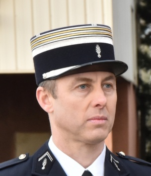 A photo released by the French Gendarmerie shows Lieutenant-Colonel Arnaud Beltrame