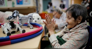 The Wider Image: Ageing Japan: Robots' role in future of elder care