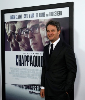"Cast member Clarke poses at the premiere for ""Chappaquiddick"" in Beverly Hills"