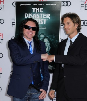 "Wiseau and Sestero from ""The Room"" arrive for the gala presentation of ""The Disaster Artist"" at the AFI Film Festival in Los Angeles,"
