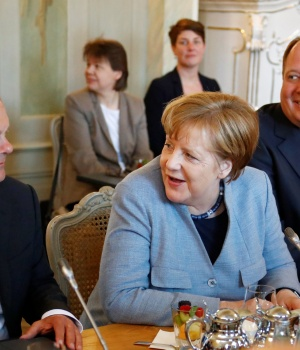 Retreat of Germany's Federal Cabinet in Meseberg