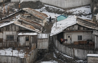 The Wider Image: A road trip on the edge of North Korea