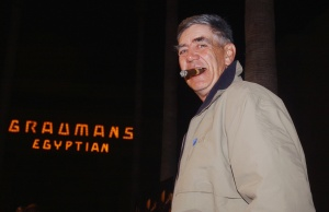 "Actor R. Lee Ermey, a cast member in the remake of the acclaimed 1971 horror classic ""Willard,"" poses during the premiere of the film in Hollywood"