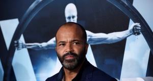 """Cast member Jeffrey Wright attends the premiere of """"Westworld"""" in Hollywood, California"""