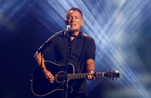 Springsteen performs during the closing ceremony for the Invictus Games in Toronto during the Invictus Games in Toronto