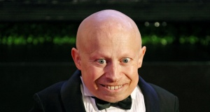Actor Troyer arrives on the red carpet at the Muhammad Ali Celebrity Fight Night Awards XIX in Phoenix