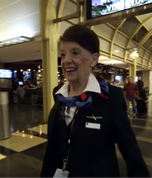 World's Oldest Flight Attendant - Bette Nash