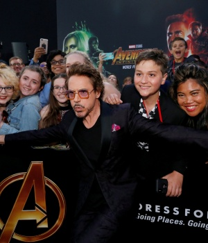 "Premiere of ""Avengers: Infinity War"" - Arrivals - Los Angeles, California"