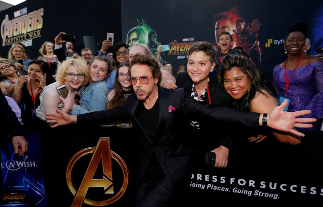 """Premiere of """"Avengers: Infinity War"""" - Arrivals - Los Angeles, California"""