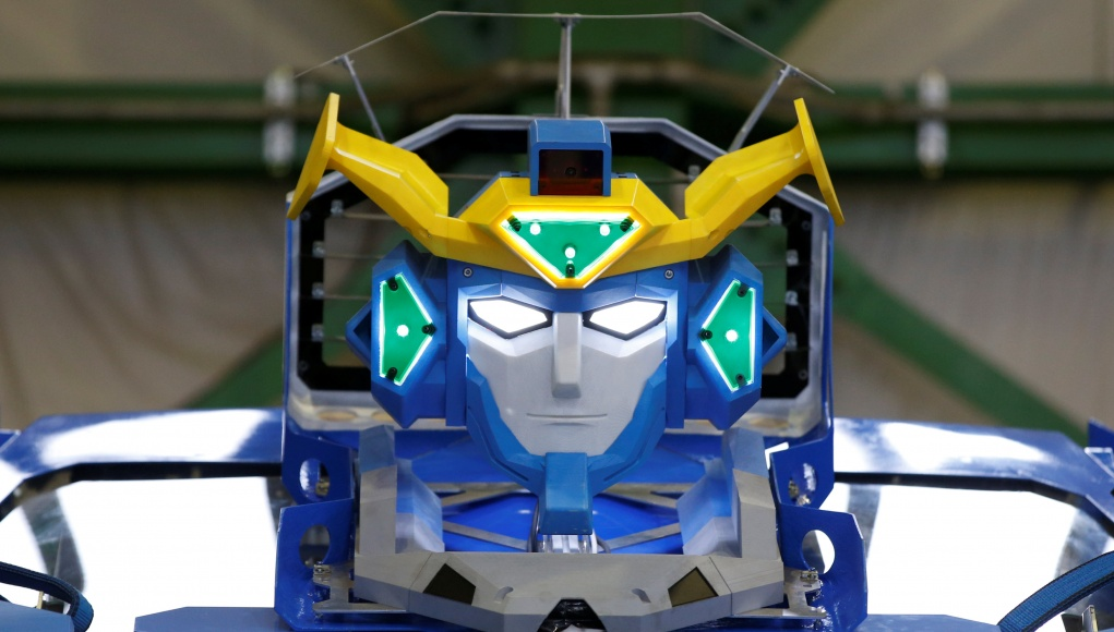 New transforming robot called