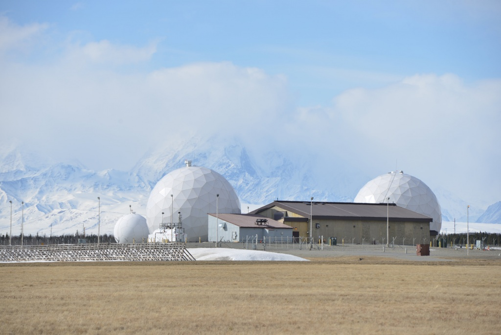 Defense Satellite Communication System at the Ft. Greely missile defence complex in Fort Greely