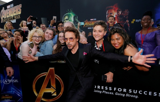 "Premiere of ""Avengers: Infinity Wars"" - Arrivals - Los Angeles, California"