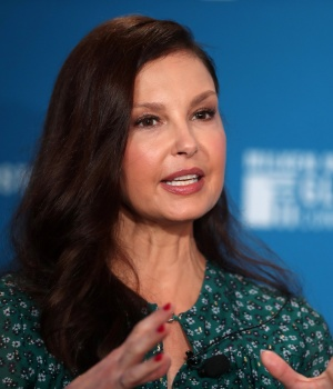 Actress Ashley Judd speaks at the Milken Institute's 21st Global Conference in Beverly Hills