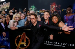 """Premiere of """"Avengers: Infinity Wars"""" - Arrivals - Los Angeles, California"""