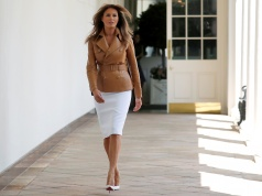 """First lady Melania Trump launches her """"Be Best"""" initiative in Washington"""
