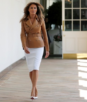 "First lady Melania Trump launches her ""Be Best"" initiative in Washington"