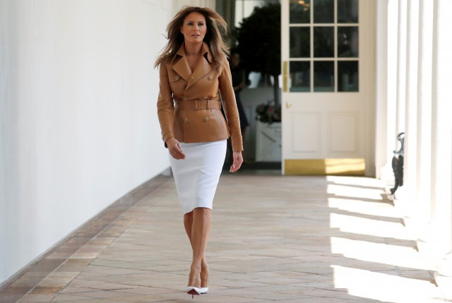 First lady Melania Trump launches her