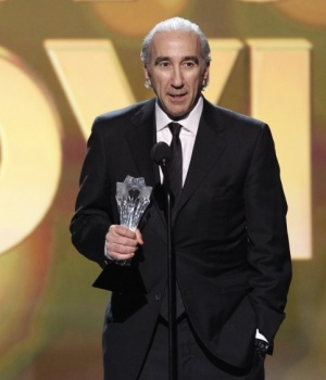 "Gary Barber, co-CEO of MGM, accepts the award for Best Action Movie for ""Skyfall"" at the 2013 Critics' Choice Awards in Santa Monica"