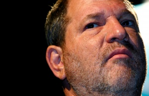 Harvey Weinstein, Co-Chairman of the Weinstein Company, attends the inaugural Middle East International Film Festival in Abu Dhabi