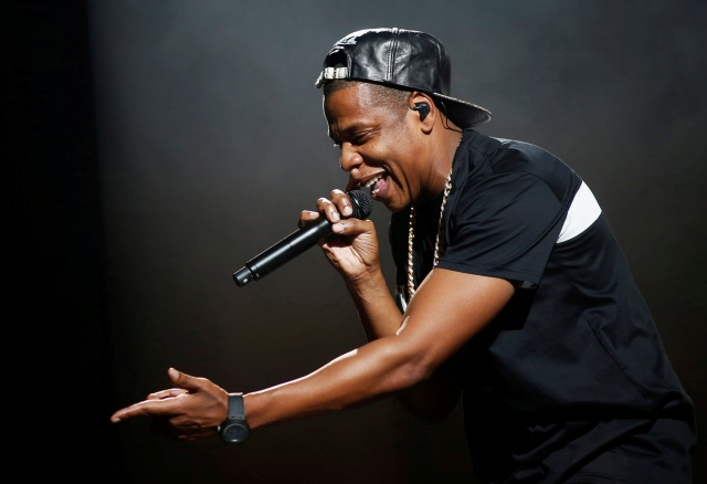 Jay-Z performs at Bercy stadium in Paris