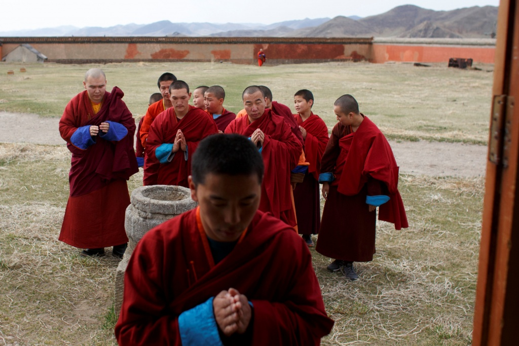 The Wider Image: Mongolia's millennial monks