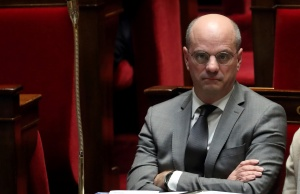French Education Minister Jean-Michel Blanquer attends the questions to the government session at the National Assembly in Paris
