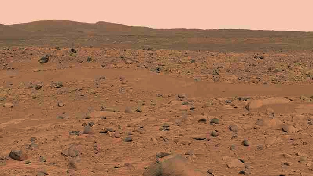 IMAGE FROM MARS SPIRIT ROVER RELEASED MARCH 18.