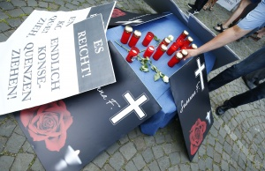 Demonstration called out by the Anti-immigration party Alternative for Germany (AfD) in Mainz
