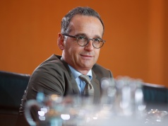 German Foreign Minister Heiko Maas attends the weekly cabinet meeting in Berlin