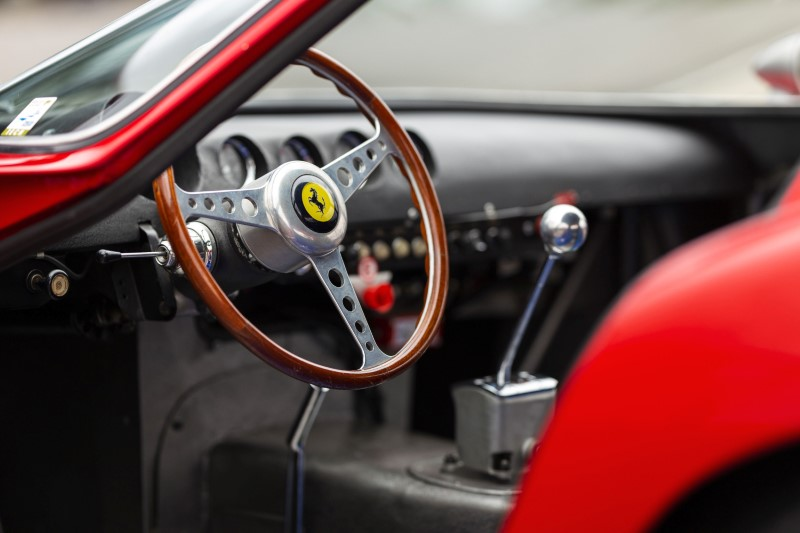 A 1962 Ferrari 250 GTO road racing car image by RM Sotheby's in Blenheim