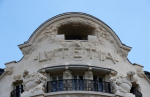 A view shows the more than century-old Hotel Lutetia in Paris