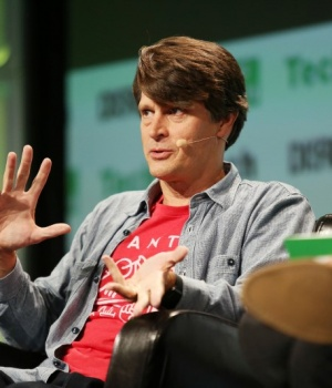 John Hanke, of Niantic Labs, speaks during 2016 TechCrunch Disrupt in San Francisco, California