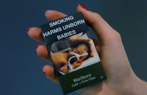 Illustration photo of a packet of Marlboro cigarettes made by Philip Morris