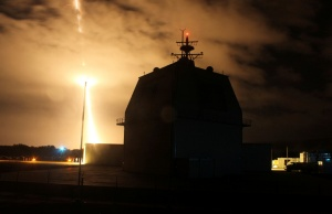 Intercept flight test of a land-based Aegis Ballistic Missile in Kauai, Hawaii