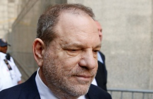 Film producer Harvey Weinstein leaves court in Manhattan